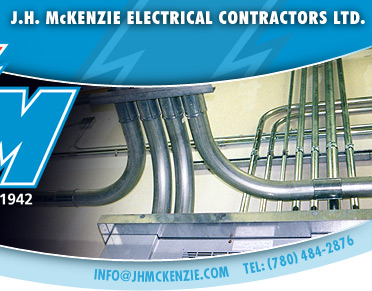 J.H. McKENZIE ELECTRICAL CONTRACTORS LTD. EDMONTON ALBERTA